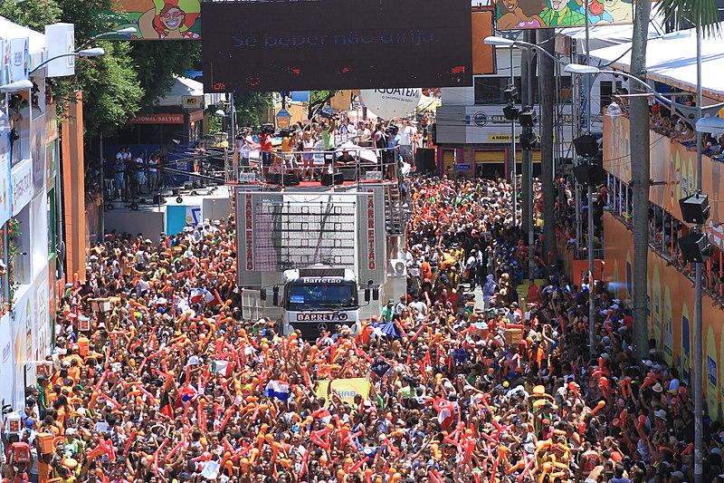 Circuito do carnaval de Salvador