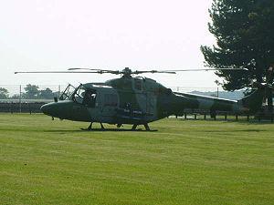 1994 British Army Lynx shootdown - A British Army Lynx helicopter