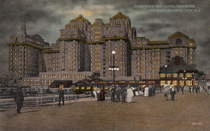 Traymore Hotel - A postcard depicting the Traymore Hotel, c. 1916