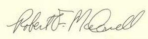 Bob McDonnell - Image: Bob Mc Donnell Signature