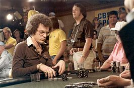 Bobby Baldwin tijdens de World Series of Poker 1979
