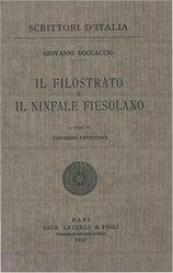 Giovanni Boccaccio: Il Filostrato e il Ninfale fiesolano