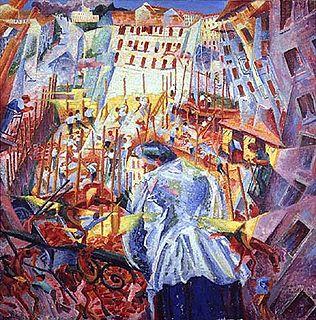 painting by Umberto Boccioni