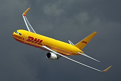 Boeing 767-300ERF der DHL Air UK