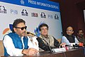 Bollywood Actor and Brand Ambassador of MIFF, Jackie Shroff addressing a press conference, at the 46th International Film Festival of India (IFFI-2015), in Panaji, Goa on November 25, 2015.jpg