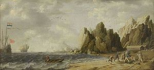 Bonaventura Peeters the Elder - Polar Bear Hunt on the Coast of Norway