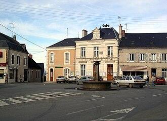 Bonnat, Creuse - Image: Bonnat centre 0420
