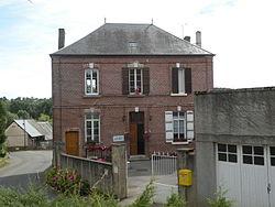 Bonnières (Oise) mairie.JPG