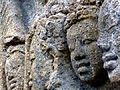 Borobudur - Lalitavistara - 018 S, The Brahmins interpret the Queen's Dream (detail 2) (11247673294).jpg