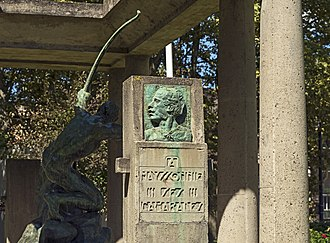 Alfred Mayssonnié - Monument to the memory of Alfred Mayssonnié, Toulouse, by Antoine Bourdelle