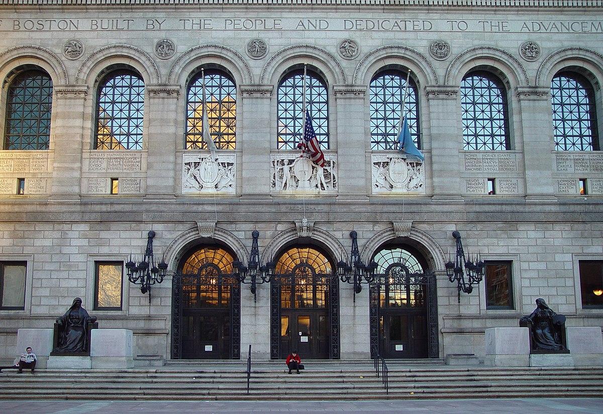 Resultado de imagen para biblioteca central universidad de massachusett