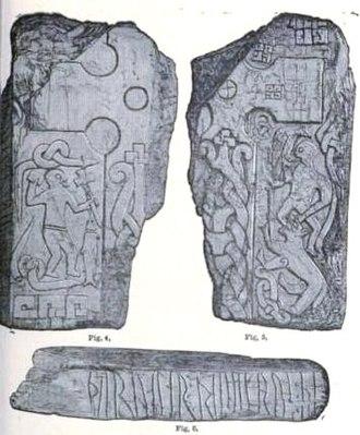 Manx runestones - Br Olsen;185A