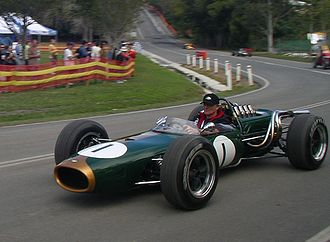 Brabham BT19 - The Brabham BT19 being demonstrated at the 2007 'Speed on Tweed' event at Murwillumbah