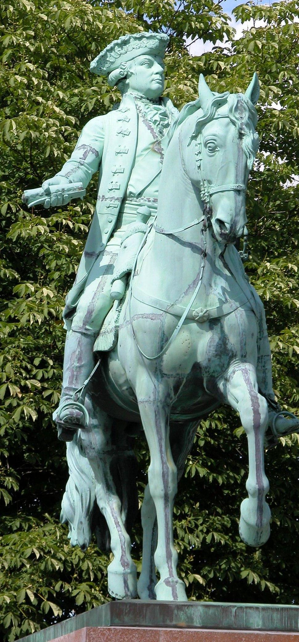 Braunschweig Reiterstandbild Karl Wilhelm Ferdinand