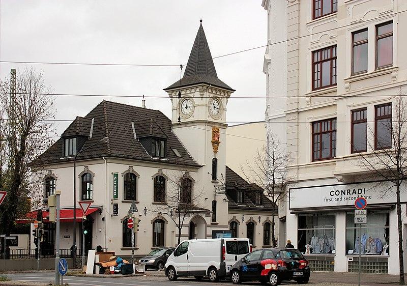 """File:Bremen, crossroads """"Am Dobben"""".JPG"""
