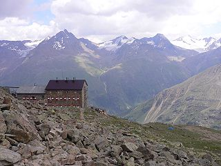 Mountain hut Building located in the mountains, generally accessible only by foot