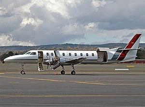 Brindabella Airlines Fairchild SA227-AC Metro III CBR Gilbert.jpg