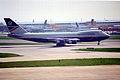 British Airways Boeing 747-136; G-AWNE@LHR;13.04.1996 (4844556057).jpg