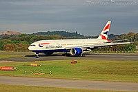 G-VIIN - B772 - British Airways
