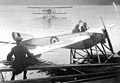 British Royal Naval Air Service Nieuport VI.H flown from Lake Windermere for training.jpg