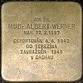 Brno Gedenkstein Albert Werner.jpg