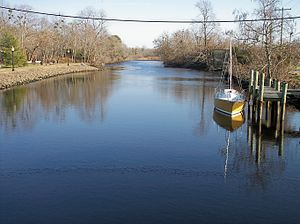 Broadkill River - The Broadkill River in Milton in 2006