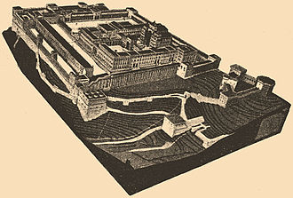 Second Temple - Solomon's Temple which was on the site prior to the building of the Second Temple