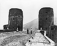 Bruecke von Remagen 1950
