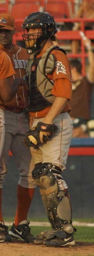 Bryan Anderson (baseball) - Anderson playing for the Swing of the Quad Cities in 2006