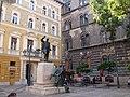 Budapest 2010-09-24, Statue of Nándor Zichy, Lőrinc pap Square. - panoramio.jpg