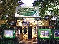 Budapest Mokus Beer garden, Mokus utca 1-3.JPG