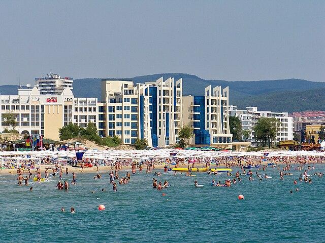 Курорт Солнечный Берег. Болгария