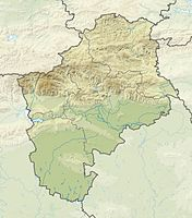 Bulgaria Sliven Province relief location map.jpg