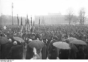 Prussian Landtag referendum 1931 - Stahlhelm rally in Lustgarten, Berlin, March 1931