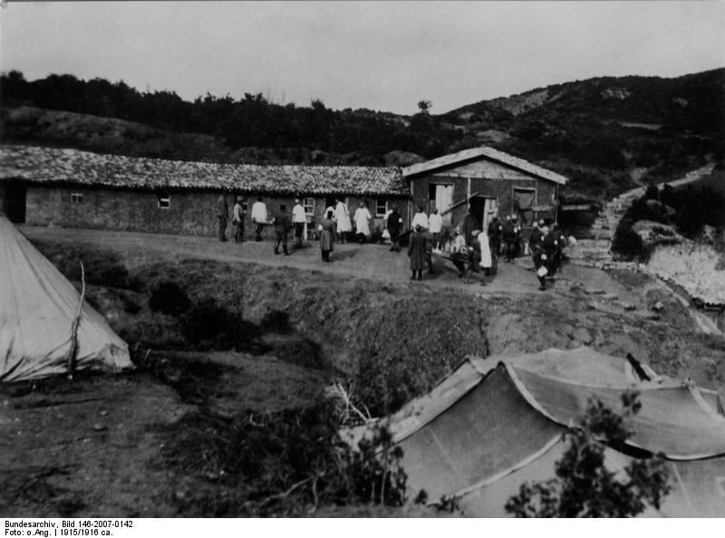 Bundesarchiv Bild 146-2007-0142, T%C3%BCrkei, Gallipoli, Lazarett