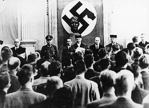 Bundesarchiv Bild 183-C0718-0052-001, Volksgerichtshof, Prozess zum 20. Juli 1944