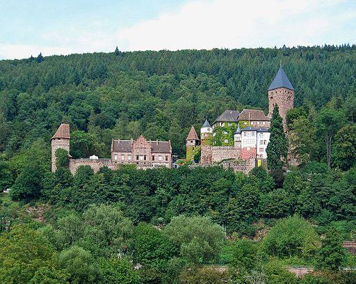 Burg Zwingenberg 2009