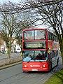 Bus leaving Penn, Wolverhampton - geograph.org.uk - 2842763.jpg