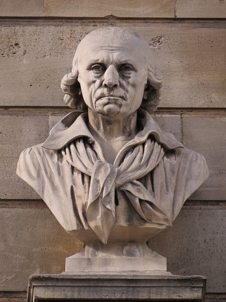 Jean-Jacques-François Le Barbier - Bust of Le Barbier (détail)