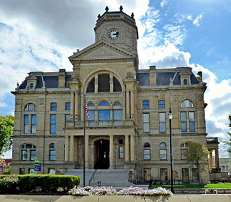 Butler County, Ohio - Image: Butler County Courthouse North Face 02