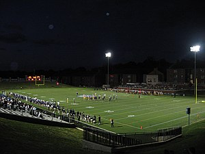 2012 Butler Bulldogs football team - History was made on September 18, 2012: Butler played their first night game at the Butler Bowl in over 70 years. They defeated Franklin 42–13