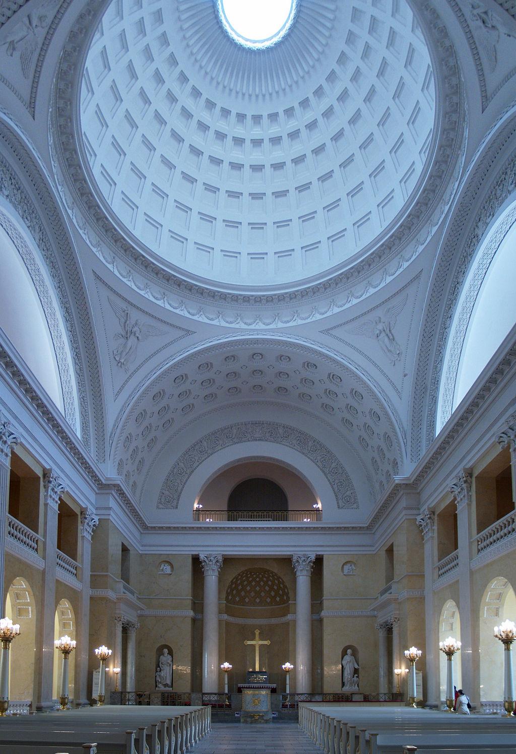 C.f.hansen, christiansborg palace church