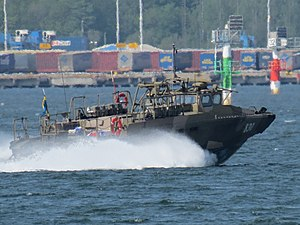 CB90-class fast assault craft - In Gothenburg, Sweden
