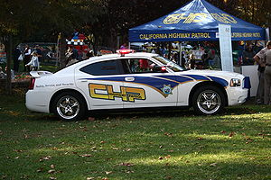 The California Highway Patrol showing off thei...