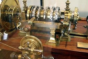 Rose engine lathe - Mercklein's rose engine, 1780