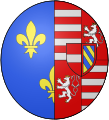 COA french queen Elisabeth d'Autriche.svg