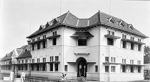 Kartini Schools - Katrini School building in Buitenzorg (opened 1918)