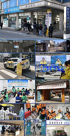 COVID-19 in South Korea - Photo montage.jpg