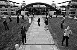 Centre for Quantum Computation - CQC group photo, Cambridge, 2003