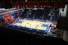 CSKA Universal Sports Hall Inside @ CSKA - Limoges 18 December 2014 3.JPG